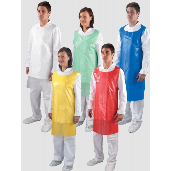 Polythene Aprons Flat Pack *100 Per Pack*