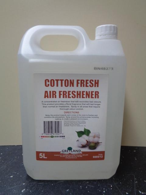 Greylands cotton air freshner 5 Litre