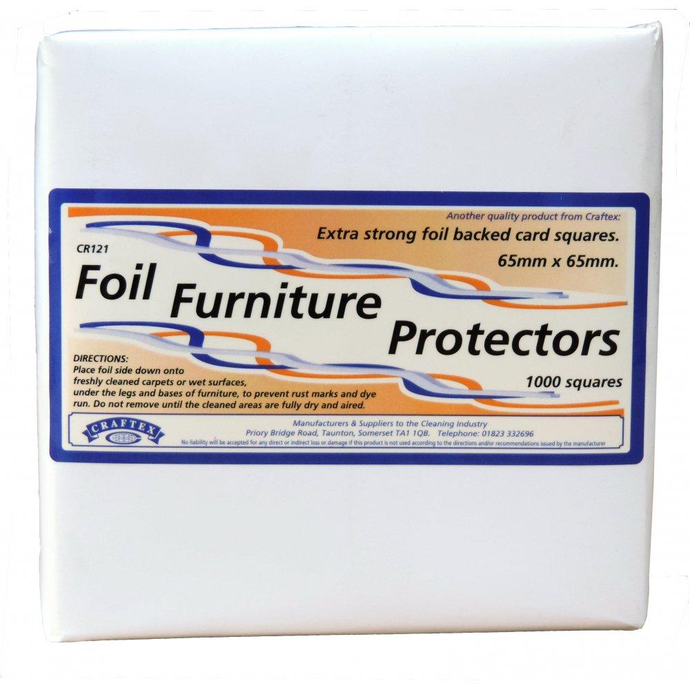 Craftex Foil Furniture Protectors *1000 Squares*
