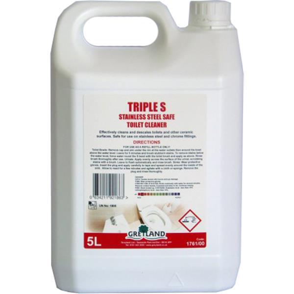 Greylands Triple S Toilet Cleaner 5 Litre