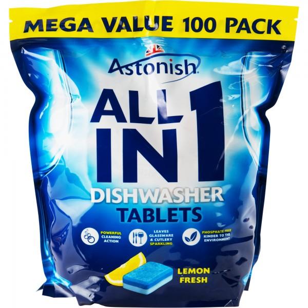 Astonish dishwasher tablets 100's