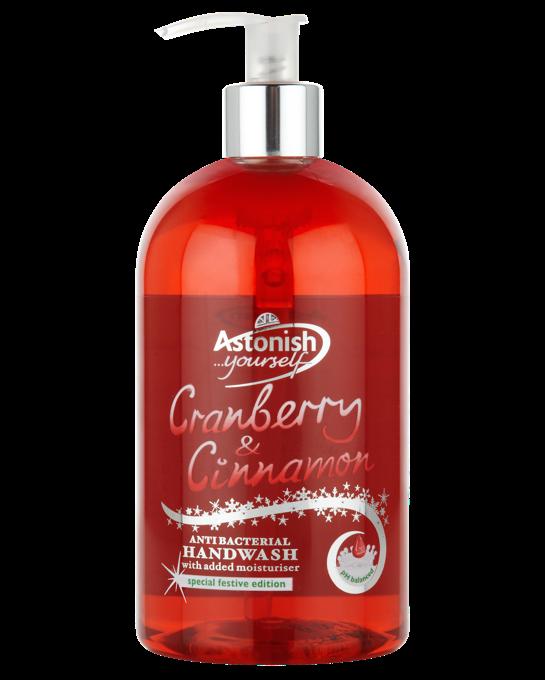 Astonish Anti-bacterial hand wash 500ml (Max 3 per person)