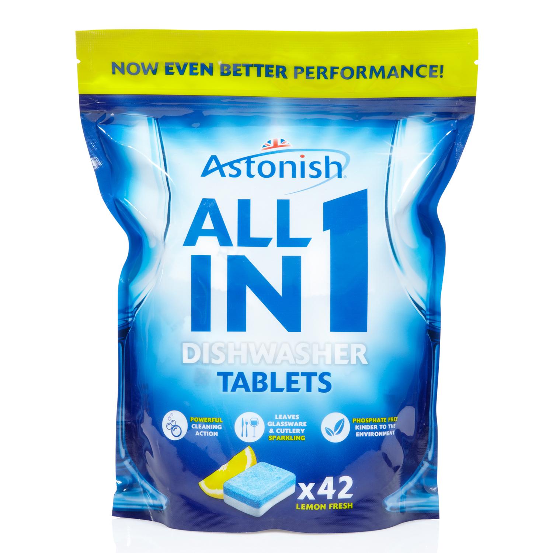 Astonish dishwasher tablets 42's