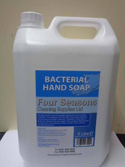 Bacterial hand soap 5 litre (2 Max per person)