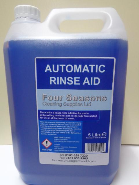 Automatic Rinse Aid Liquid 5 Litre