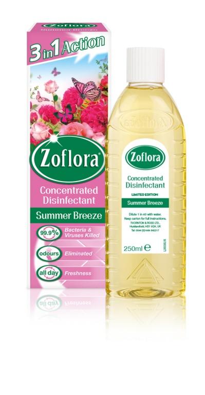 Zoflora Disinfectant 250ML Summer Breeze