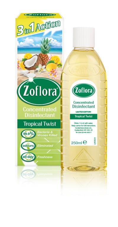 Zoflora Disinfectant 250ML Tropical Twist