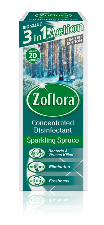 Zoflora Disinfectant 500ml Sparkling Spruce