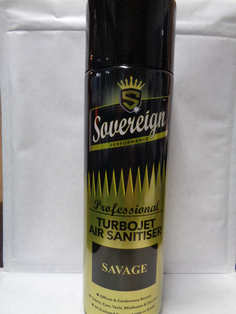 Sovereign Turbojet Air Sanitiser 500ML Savage(SOLD OUT)