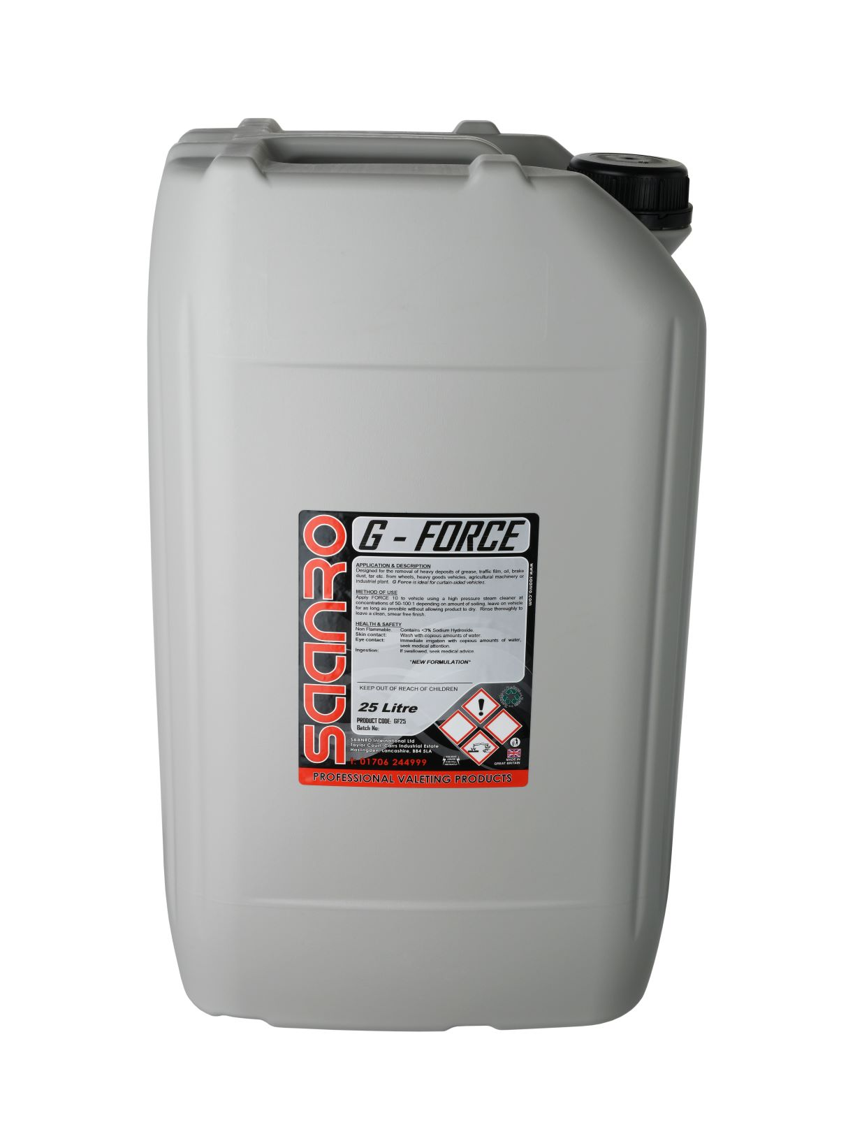 Saanro G-Force 25 Litre