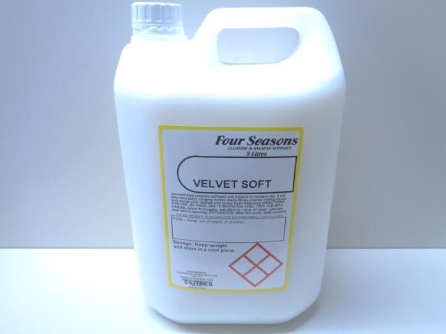 Velvet Soft Fabric Softener 5 Litre
