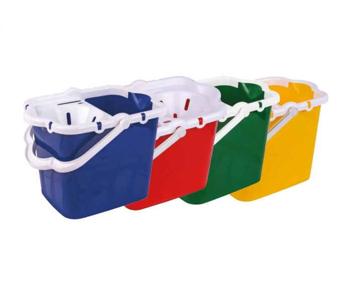 Plastic Mop Bucket & Wringer * 4 Colours*