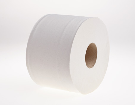 Centrefeed Toilet Rolls 200 Meter White 6 Rolls