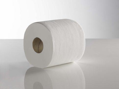 Economy CentreFeed Rolls White 120 Meter