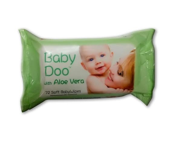 Baby Doo Baby Wipes (72 wipes per pack)