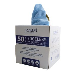 Ramon Boxed Microfibre cloths 50's Blue