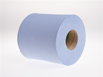Centre Feed Rolls 2 Ply 375 Sheets Blue 1 x 6