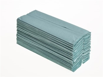 C-Fold Hand Towels 1 Ply Green 20 x 144