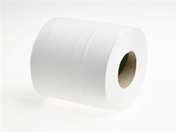 Mertons Centre Feed Roll 2 Ply 375 Sheets White 1 x 6