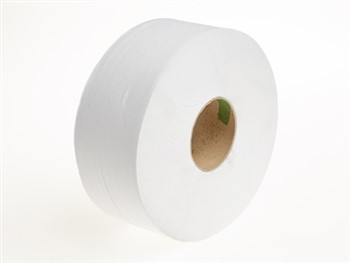 Giant Toilet Rolls 2 Ply 300M White 1 x 6