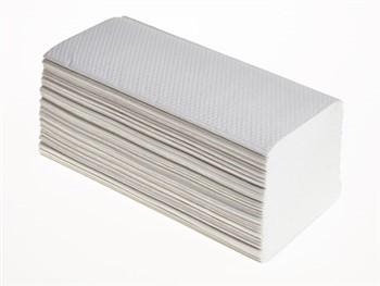 Interleaf Hand Towels 2 Ply White 15 x 214