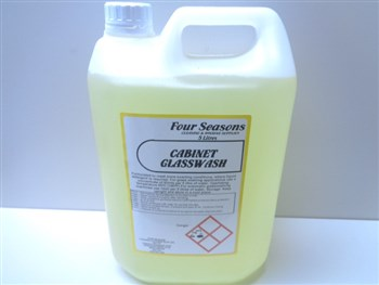 Four Seasons Cabinet Glass Wash 5 Litre