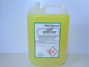 Four Seasons Lemon Disinfectant 5 Litre
