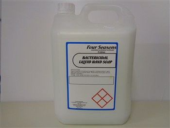 Four Seasons Bactericidal Liquid Hand Soap 5 Litre