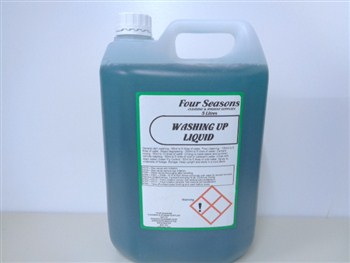 Four Seasons Washing Up Liquid 10% 5 Litre