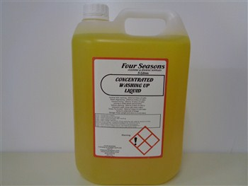 Four Seasons  Washing Up Liquid Concentrated Lemon 20% 5 Litre