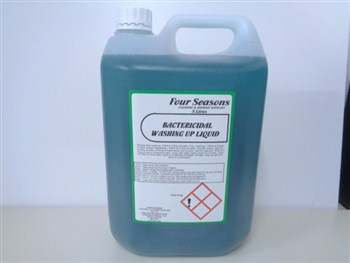 Four Seasons Bactericidal Washing Up Liquid 5 Litre