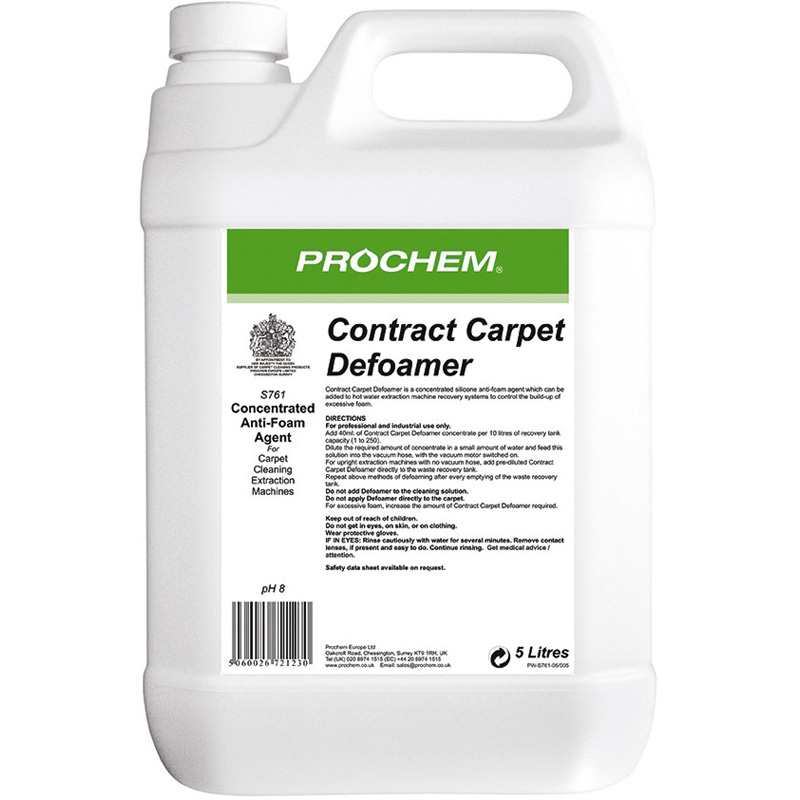 Prochem Contract Carpet Defoamer 5 Litre