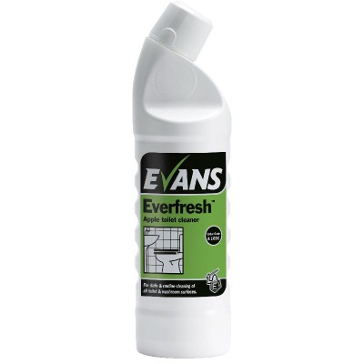Evans Everfresh apple toilet & washroom cleaner 1 Litre