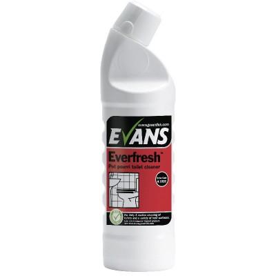 Evans Everfresh Pot Pourri Toilet & Washroom Cleaner 1 Litre