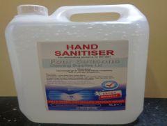 Four Seasons Hand Sanitiser 5 Litre