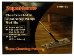 Electrostatic Cleaning Mop Refills