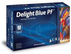 Delight Blue Powder Free Gloves *3 Sizes*
