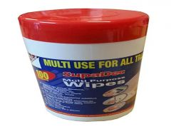 Supadec Multi-Purpose Wipes 100's