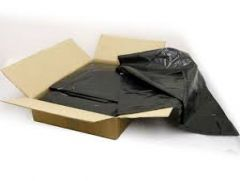 Black Wheelie Bin Liners Box 100's