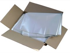 Clear Wheelie Bin Liners Box 100's