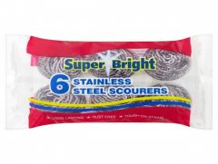 Stainless Steel Scourers Pk12