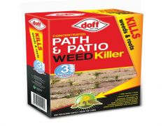 Doff Path & Patio Weedkiller 3 Sachets