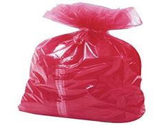 Red Laundry Bags Approx 200 Per Box