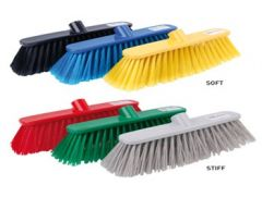 Robert Scott Deluxe Broom & Handle Available In 4 Colours