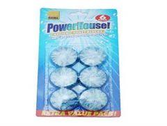 Powerhouse Blue Cistern Toilet Blocks Pk6