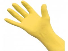 Yellow Rubber Gloves *3 Sizes*