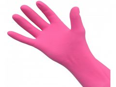 Pink Rubber Gloves *3 Sizes*