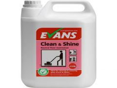 Evans Clean & Shine perfumed floor maintainer 5 Litre